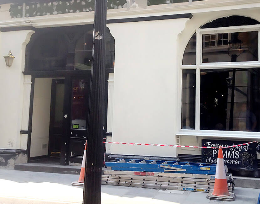 Residential and Commercial Exterior Painting in London